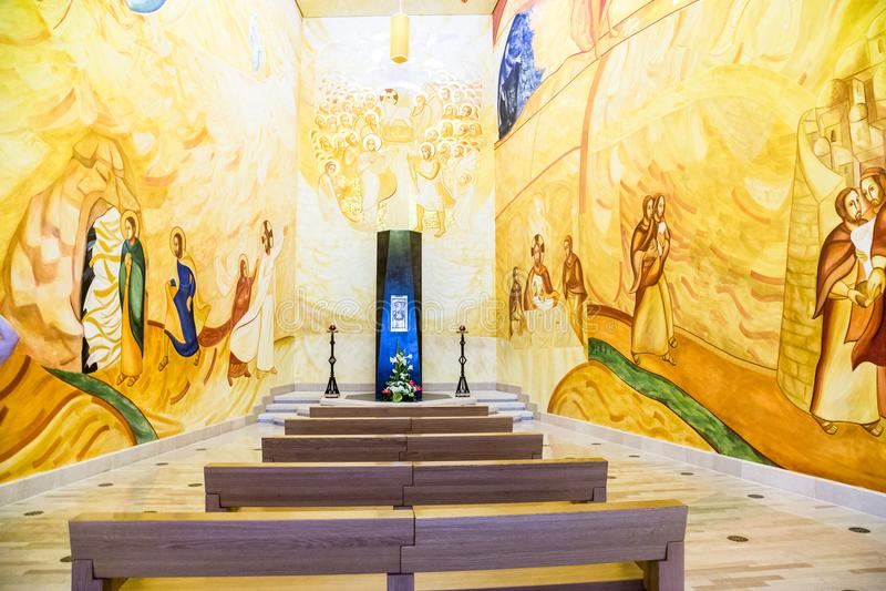 Heiligdom van San Giovanni Rotondo, Apulia, Italië stock afbeelding