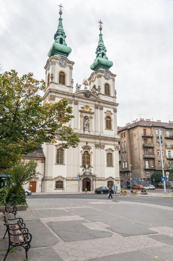 Download Heilige Anne Church (Hongaar: Szent Anna Templom) Redactionele Foto - Afbeelding bestaande uit boedapest, hongaars: 39110216