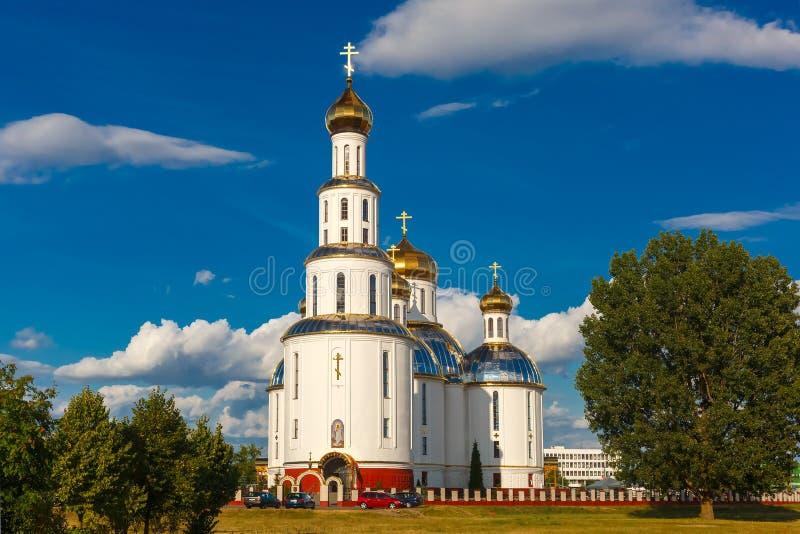 Heilige Auferstehungs-Kathedrale in Brest, Weißrussland lizenzfreies stockbild