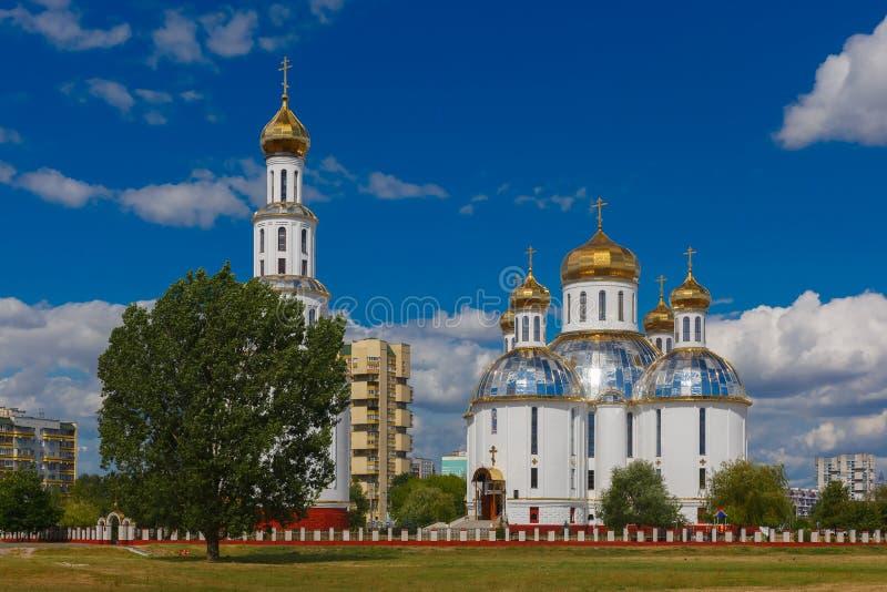 Heilige Auferstehungs-Kathedrale in Brest, Weißrussland lizenzfreies stockfoto
