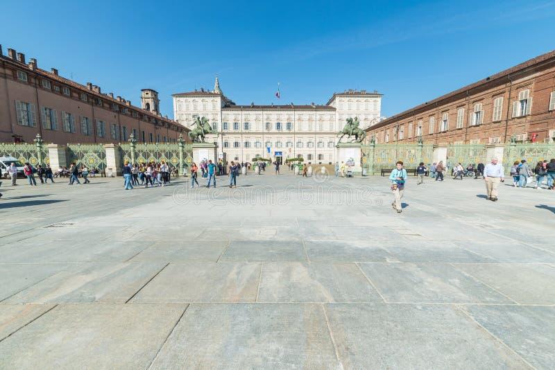 Heilige Ausstellung des Leichentuch-2015 in Torino lizenzfreie stockbilder