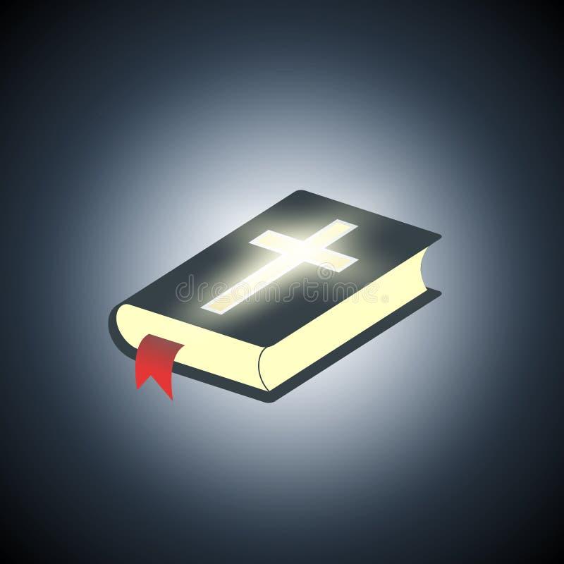 Heilige Bibel Symbol der Religion vektor abbildung