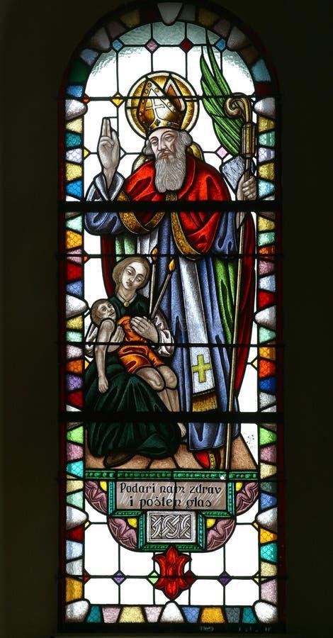 Heilige Blaise royalty-vrije stock afbeelding