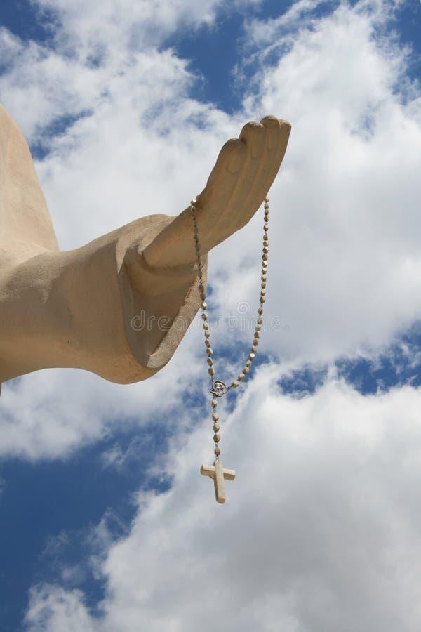 Heilige Charbel dient de hemel in Libanon in royalty-vrije stock foto