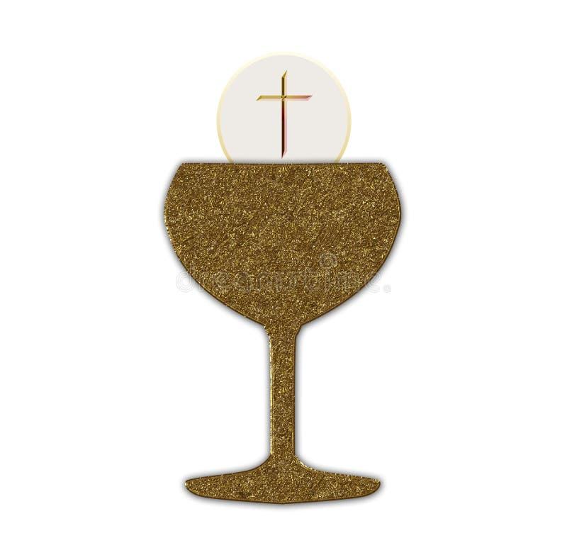 Heilige Communie vector illustratie