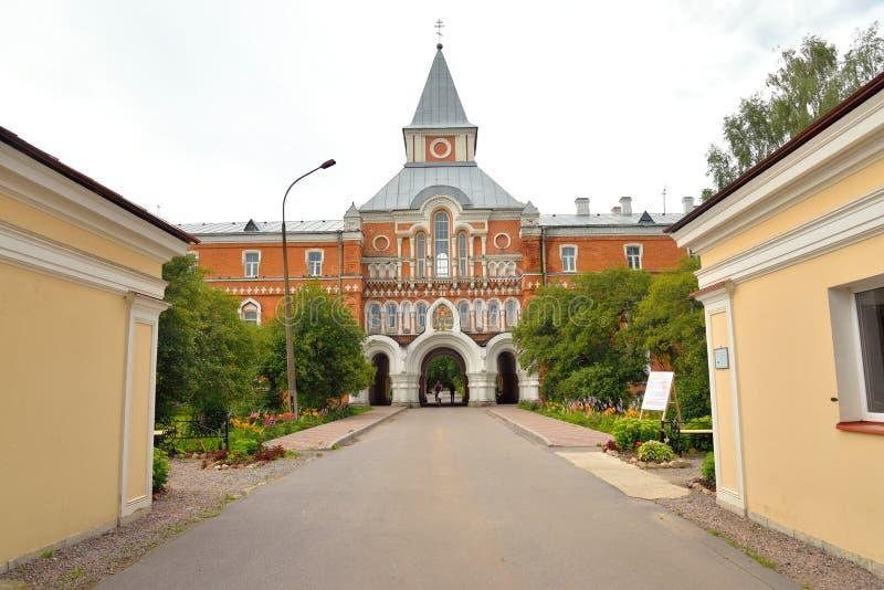 Heilige Dreifaltigkeit Sergius Maritime Men Monastery stockfoto