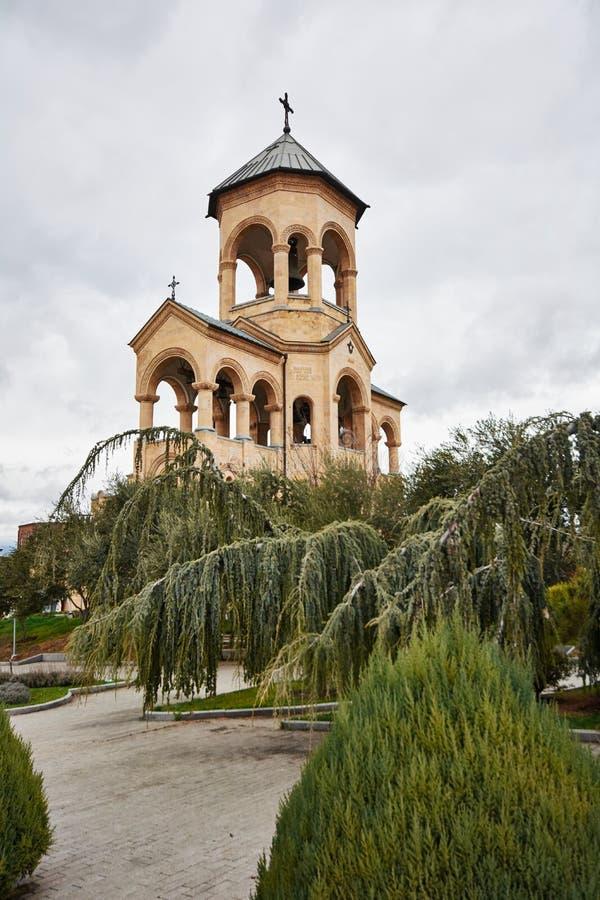 Heilige Dreiheit-Kathedrale von Tbilisi stockfoto