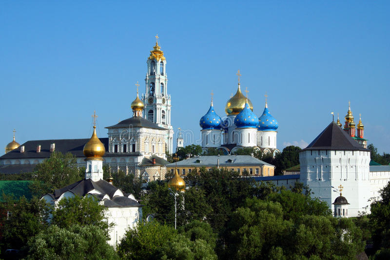 Heilige Dreiheit-Sergius Lavra lizenzfreies stockbild