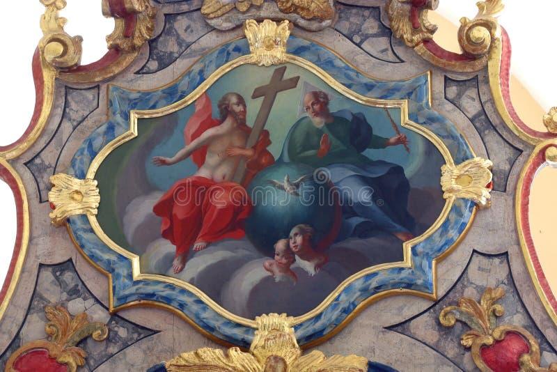 heilige drievuldigheid stock afbeelding