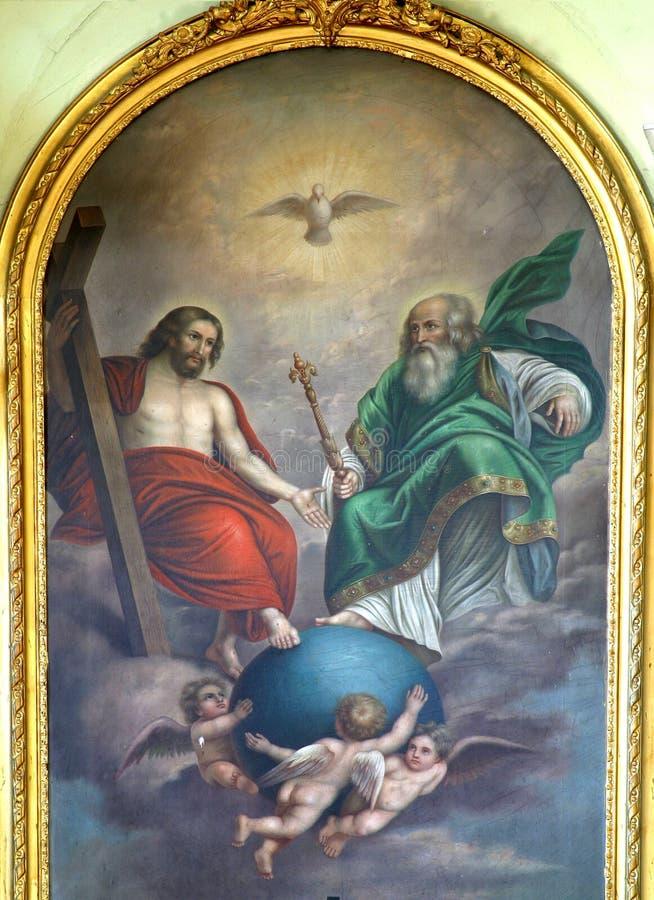 heilige drievuldigheid stock foto