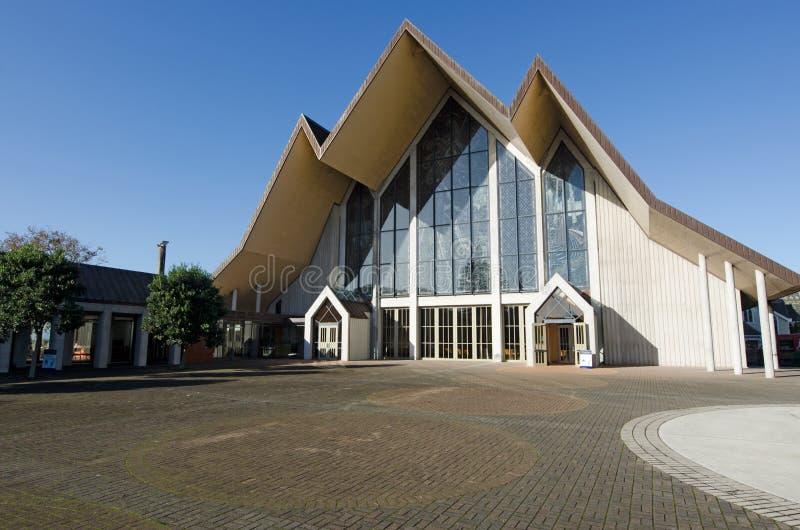 Heilige Drievuldigheidskathedraal, Auckland stock afbeeldingen
