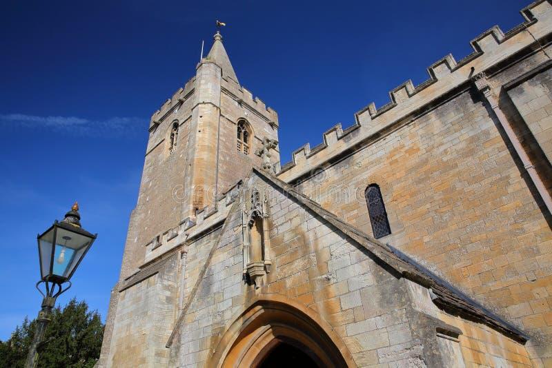 Heilige Drievuldigheidskerk in Bradford op Avon, het UK royalty-vrije stock afbeelding