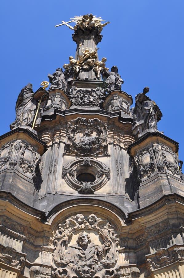 Heilige Drievuldigheidskolom, Olomouc royalty-vrije stock fotografie
