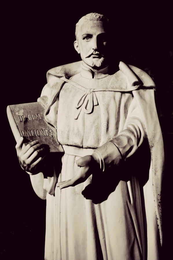 Heilige Edmund Campion royalty-vrije stock foto