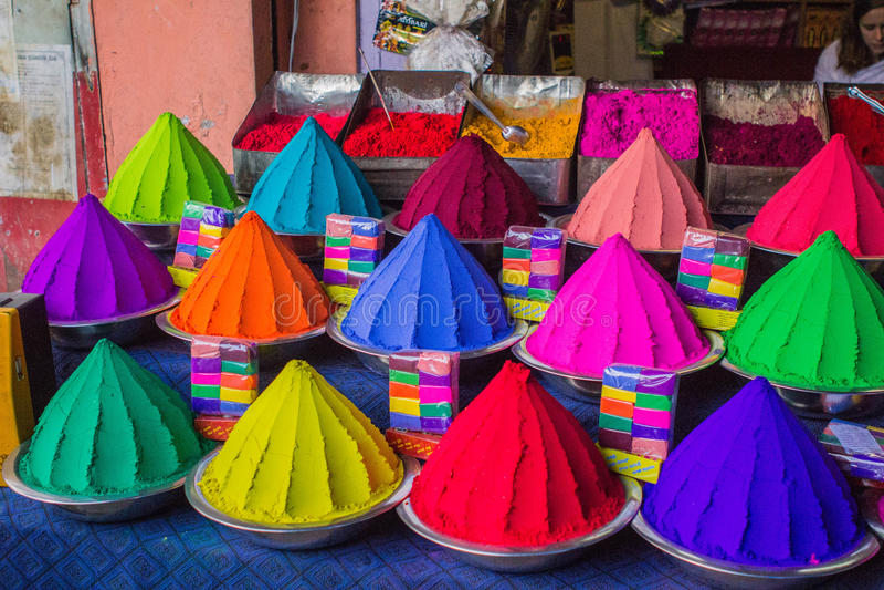 Heilige Farben lizenzfreie stockbilder
