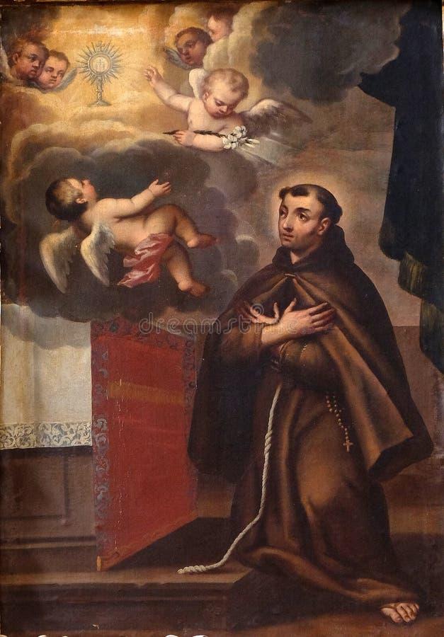 Heilige Francis van Assisi stock foto