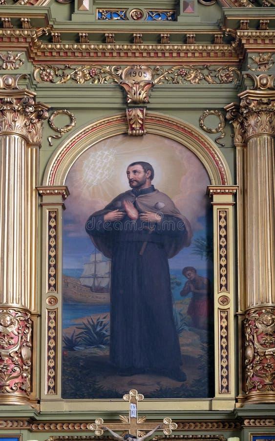 Heilige Francis Xavier royalty-vrije stock afbeeldingen