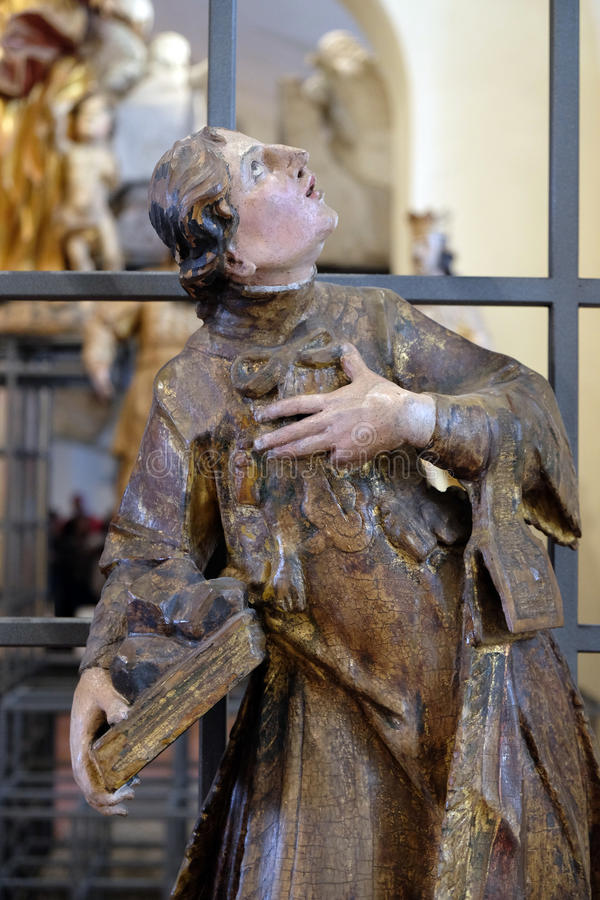 Heilige Francis Xavier royalty-vrije stock foto's
