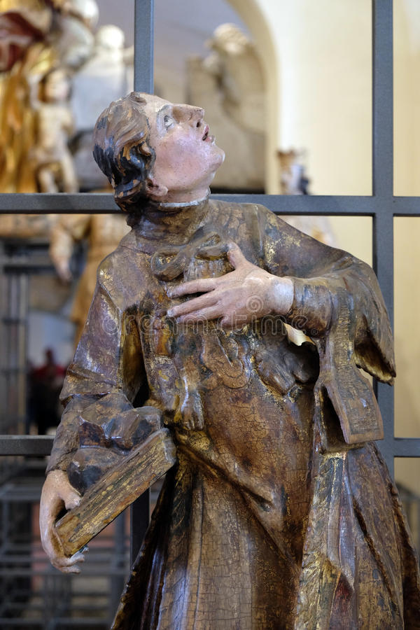 Heilige Francis Xavier royalty-vrije stock fotografie