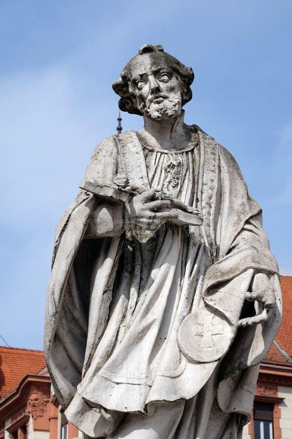 Heilige Francis Xavier stock afbeelding