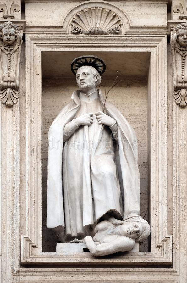 Heilige Francis Xavier stock fotografie