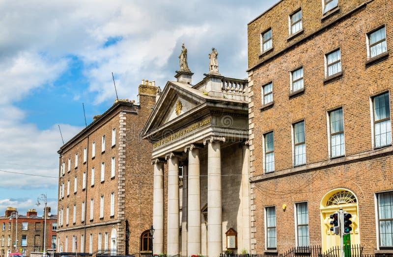 Heilige Francis Xavier Church in Dublin royalty-vrije stock fotografie