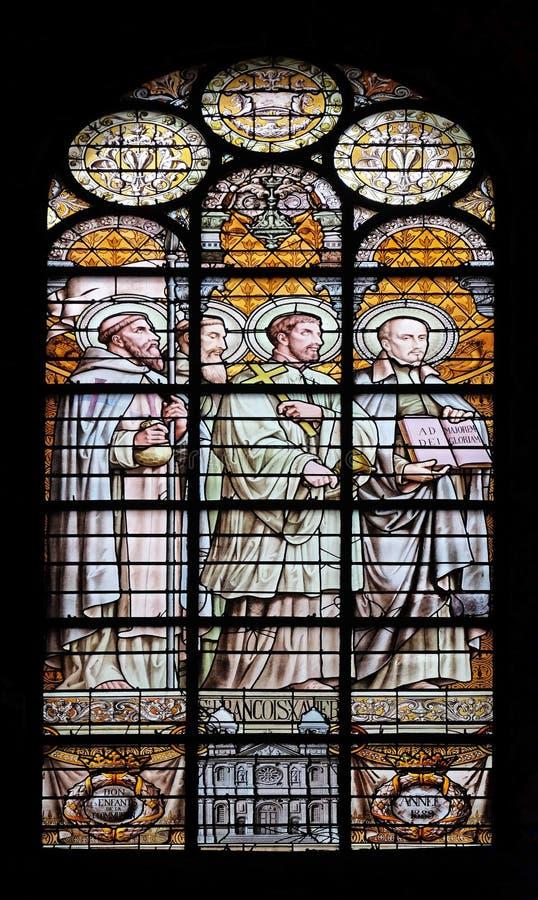 Heilige Francis Xavier stock afbeeldingen