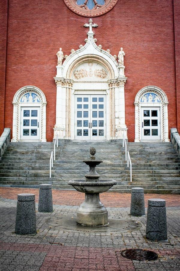 Heilige Geestkerk, Voorzienigheid, Rhode Island royalty-vrije stock afbeeldingen