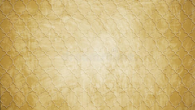 Heilige Geometriekreisstempel-Musterform auf Wandmuster textu stockbilder