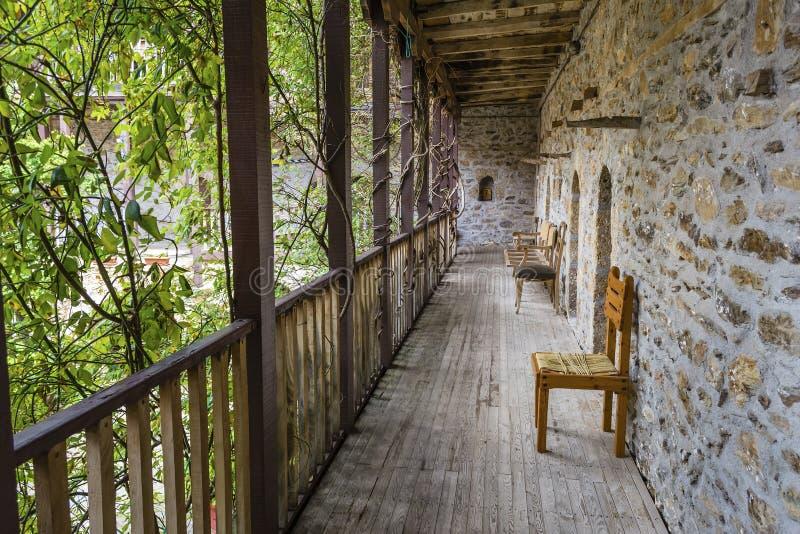 Heilige George Monastery Corridor royalty-vrije stock foto's