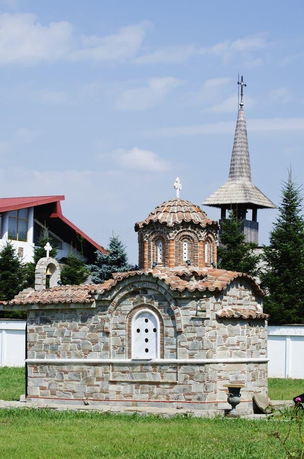 Heilige George Monastery van Giurgiu, Roemenië stock afbeeldingen