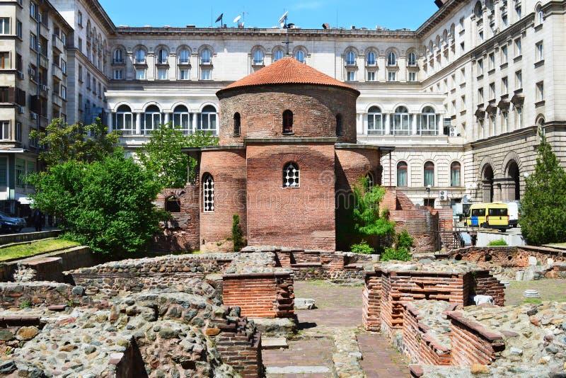 Heilige George Rotunda stock afbeeldingen