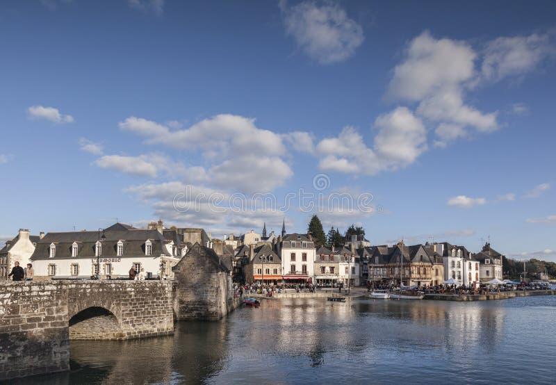 Heilige-Goustan, Auray, Bretagne, Frankrijk royalty-vrije stock foto