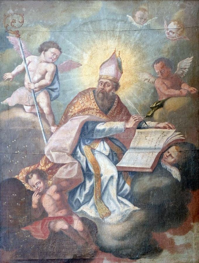 Heilige Gregory royalty-vrije stock fotografie