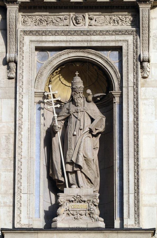 Heilige Gregory royalty-vrije stock afbeelding