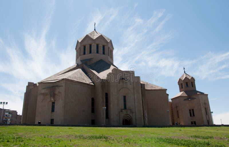Heilige Gregory de Illuminator Kathedraal stock fotografie