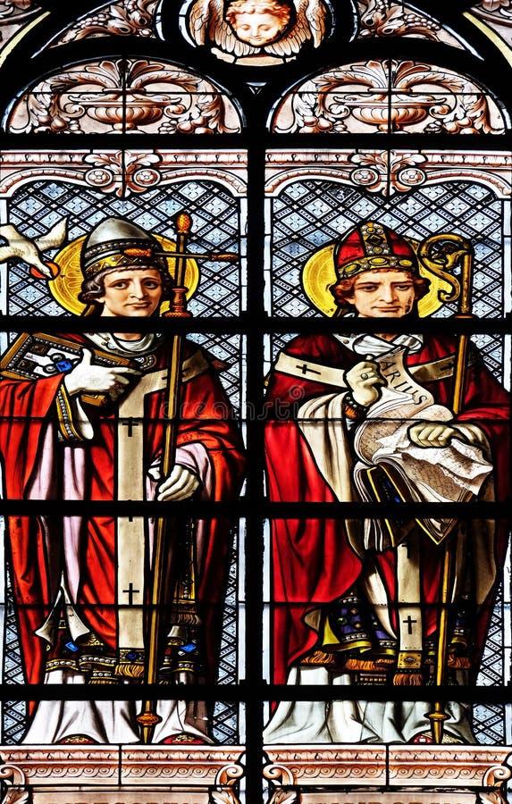 Heilige Gregory en Heilige Isidore royalty-vrije stock fotografie