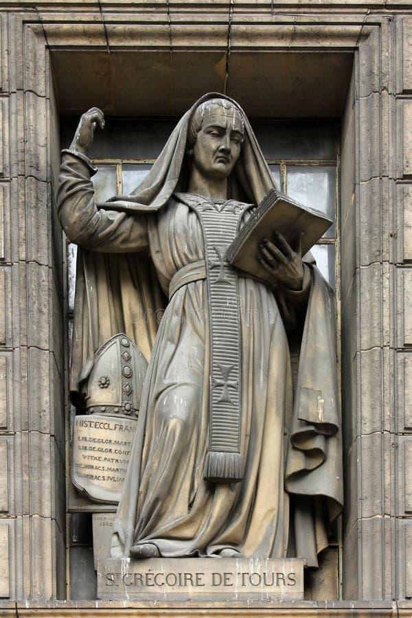 Heilige Gregory van Reizen stock afbeelding