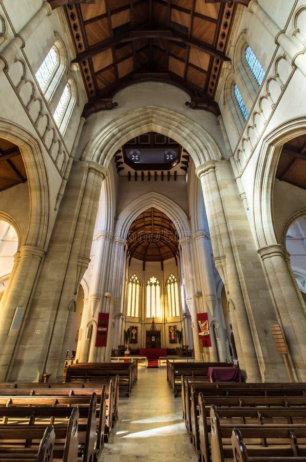Heilige Hartkathedraal in Bendigo, Australië stock fotografie