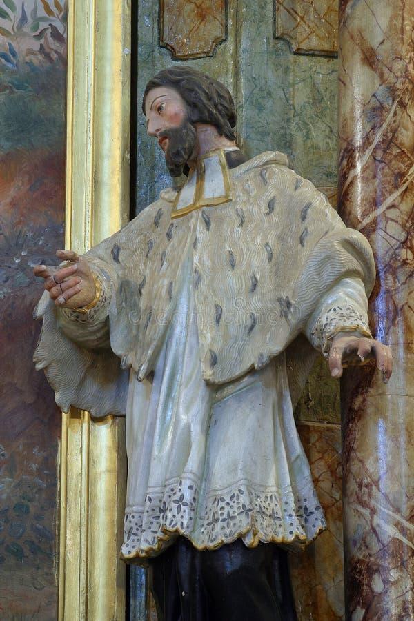 Heilige Ignatius stock afbeelding