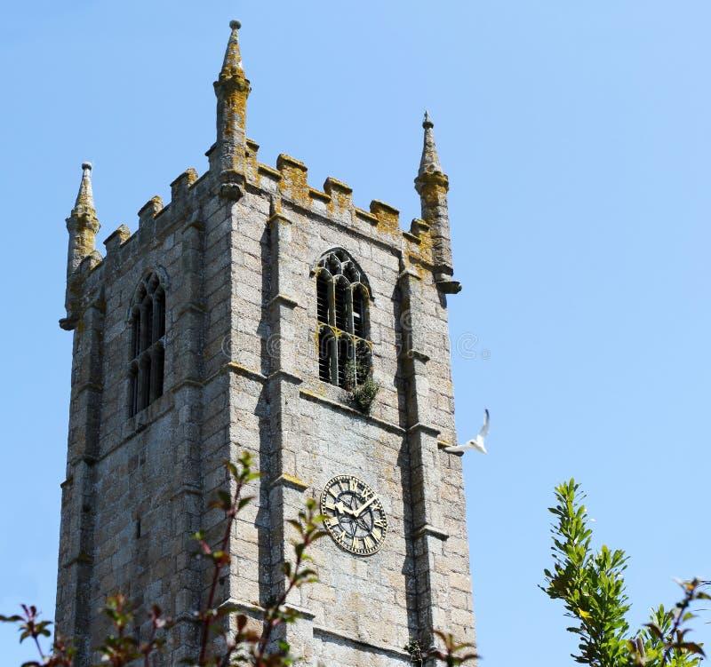Heilige Ives Parish Church Cornwall, Engeland stock fotografie