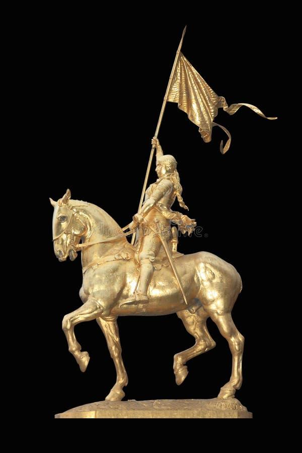 Heilige Joan van Boog royalty-vrije stock afbeeldingen