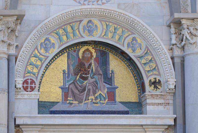 Heilige John doopsgezind royalty-vrije stock foto