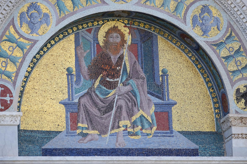 Heilige John doopsgezind stock fotografie