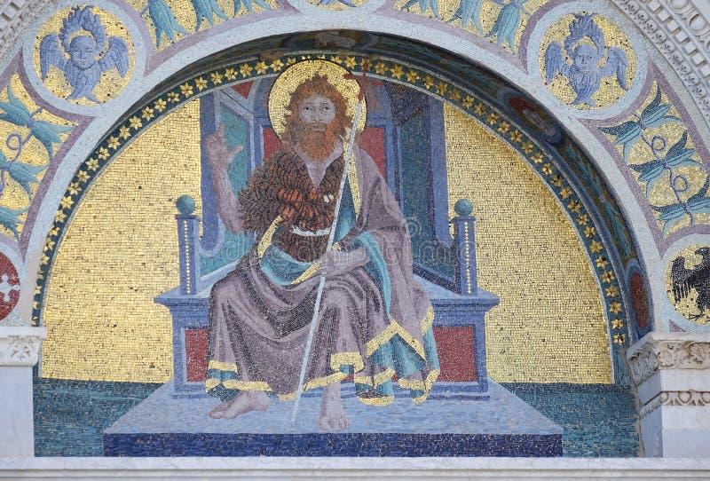 Heilige John doopsgezind royalty-vrije stock afbeelding