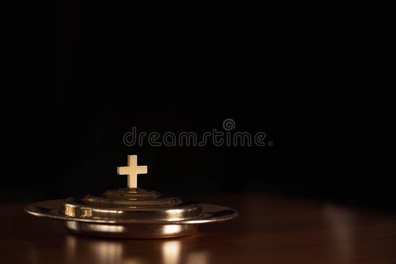 Heilige kerkgemeenschap stock afbeelding
