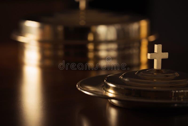 Heilige Kommunion lizenzfreies stockbild