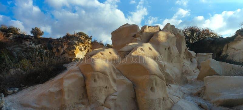 Heilige landreeks - Beit Guvrin National Park stock foto