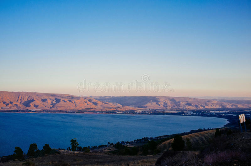 Heilige landreeks - Overzees van Galilee#6 stock afbeelding