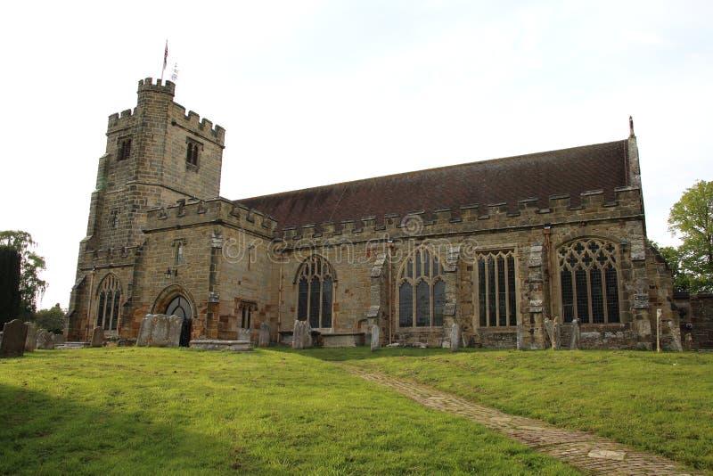 Heilige Laurence Church Hawkhurst, Sussex royalty-vrije stock afbeeldingen